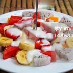 Snack saludable de frutas