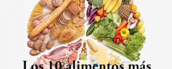 Los 10 alimentos más sanos y nutritivos