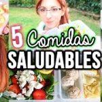 5 Ideas de Comidas Saludables! | Sally Winther