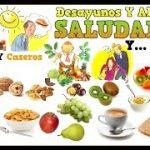 Almuerzos y Desayunos saludables, Desayunos sanos, Alimentos ideales para un buen Desayuno