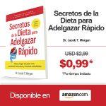 """Descarga """"Secretos de la dieta para adelgazar rápido"""" a Precio Promocional!"""