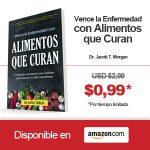 """Libro """"Vence la enfermedad con alimentos que curan"""" a Precio Promocional!"""