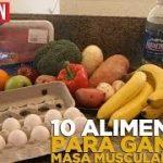Los 10 mejores alimentos para ganar masa muscular y perder grasa