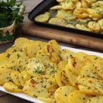 Recetas de PAPAS AL HORNO patatas fáciles y sabrosas -Comida Saludable