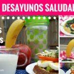 3 DESAYUNOS SALUDABLES en menos de 5 minutos – Las Recetas de Laura ❤ Recetas de Comida Saludable