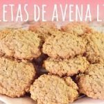 Receta de galletas de avena deliciosas, light y saludables
